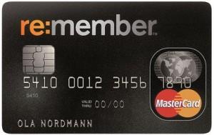 remember kreditkort mastercard