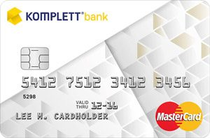 komplett kredittkort