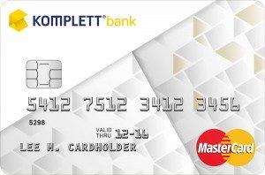 komplettbank mastercard