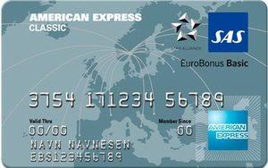 sas eurobonus american express