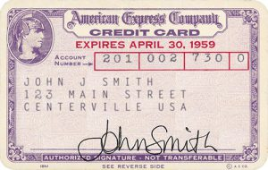 American Express 1958_FIRST-CARD