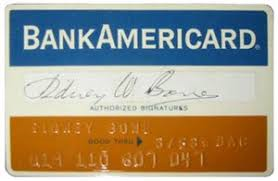 Bankamericard 1966