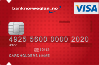 Bank Norwegian Kortet